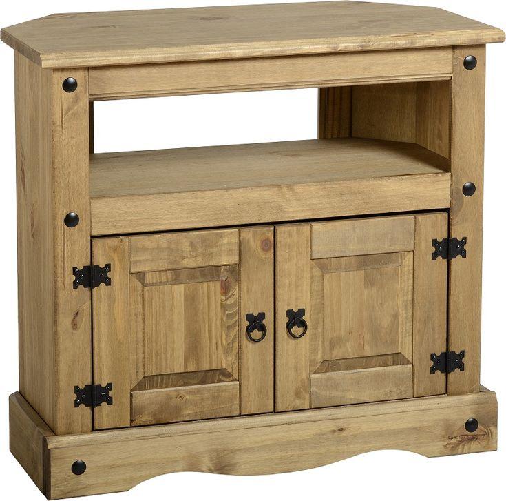 sales@spt-furniture.com Distressed waxed pine corona corner tv cabinet. Assembled Sizes(MM) 850 x 430 x 785 SHELF SPACE W760 D350 H235 CUPBOARD SPACE W760 D350 H395 DOOR SIZE W330 H345 DOOR SIZE W/STRIP W350 H345 SHELF OPENING HEIGHT 165MM