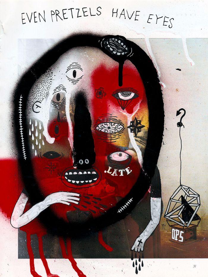 MICHELE GUIDARINI http://www.widewalls.ch/artist/michele-guidarini/  #design  #illustration  #urbanart