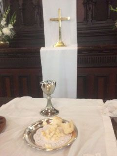 Communion is an essential part of our Friday service. As we practice an Open Table ALL people are welcome. You don't need to belong to our church.
