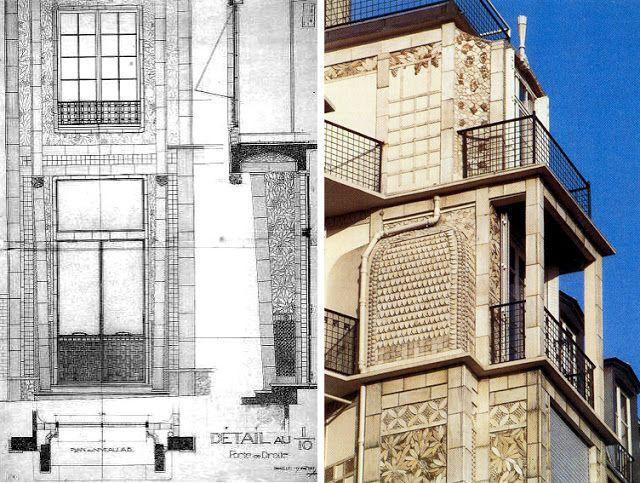 HASXX_teoría: AUGUSTE PERRET _ Casa de la rue Franklin nº 25 bis (1902-1903)