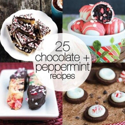 25 Perfect Peppermint and Chocolate Recipes