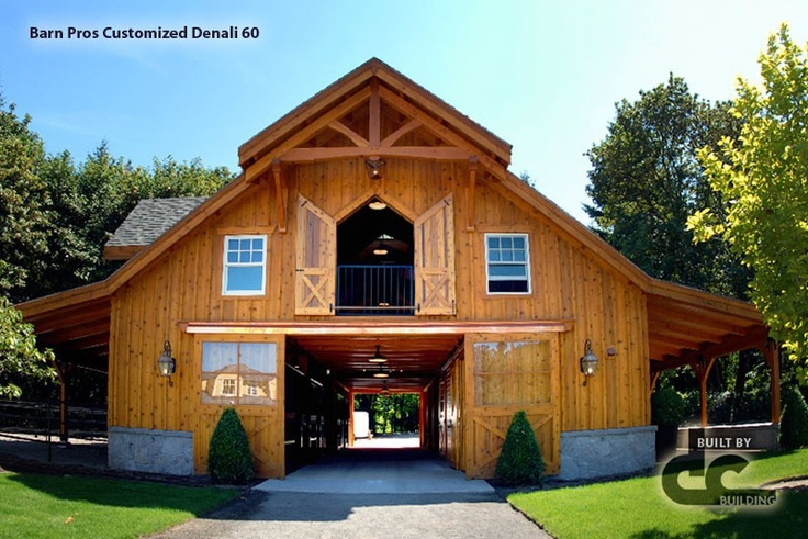 2 story horse barns with living quarters pinterest for House plans of barns with living space