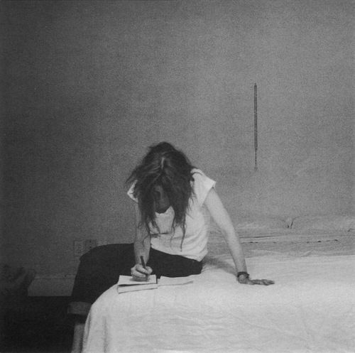 Patti Smith - inspiration for all.