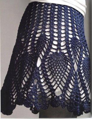 Falda de Piñas Para el Verano