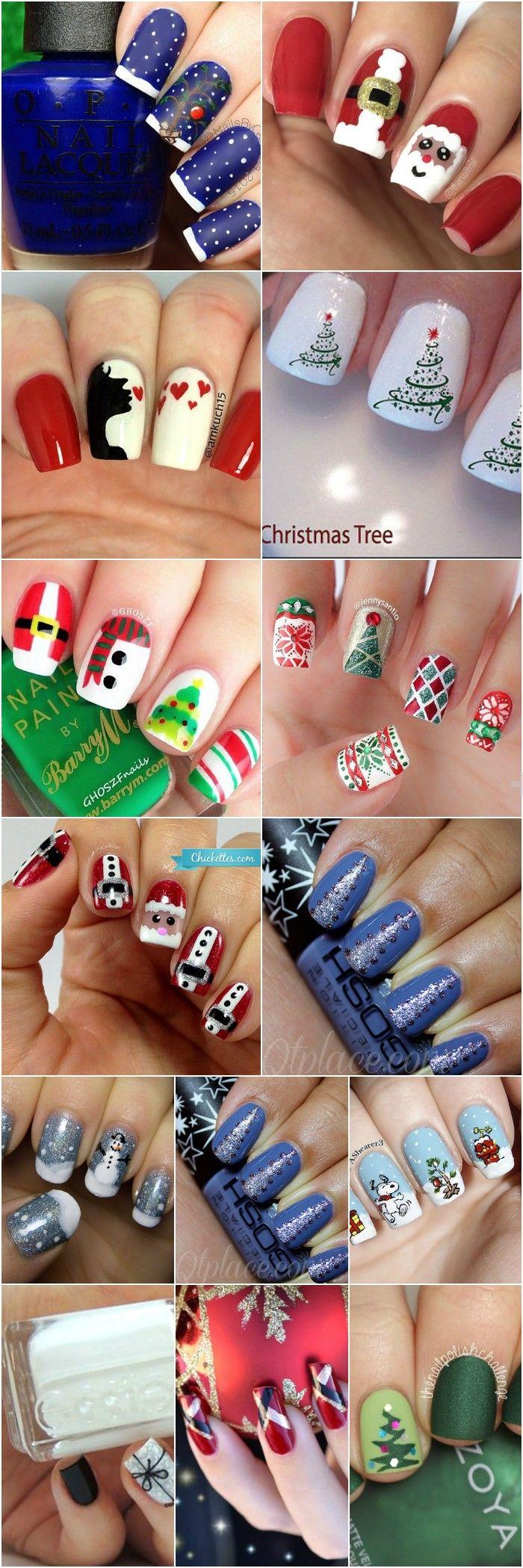 72 besten Nails Bilder auf Pinterest | Weihnachts nägel, Nageldesign ...