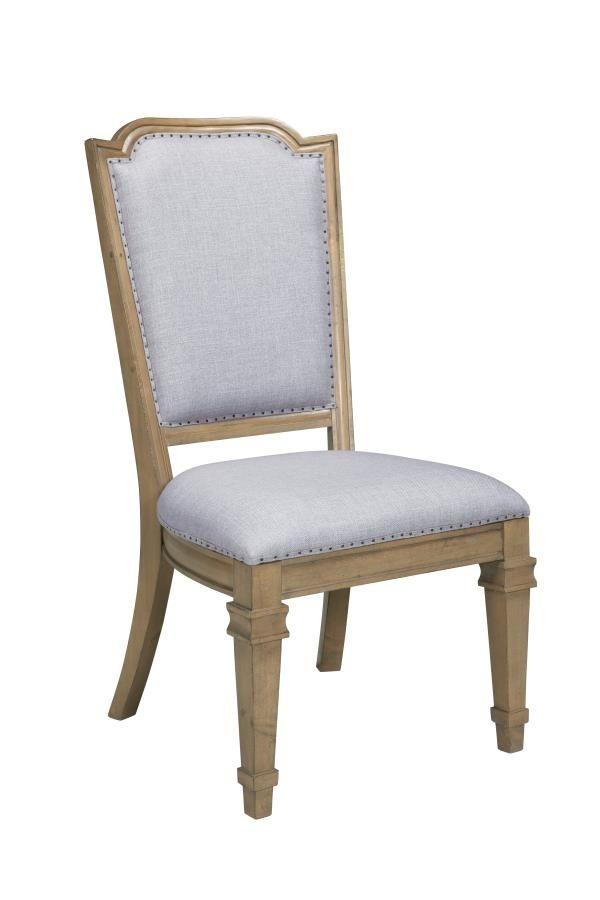 Coaster Florence Grey Rustic Smoke Dining Chair Set Of 2