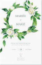 Modèles de Invitations mariage, Organisation de mariage Invitations et faire-part, Invitations et faire-part pour Invitations mariage, Organisation de mariage Page 4 | Vistaprint