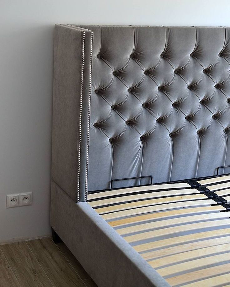 Brand new grey bed ;-)