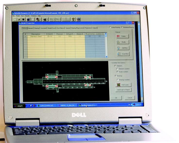 SpindlePro - Spindle Analysis Module #engineering #MALinc