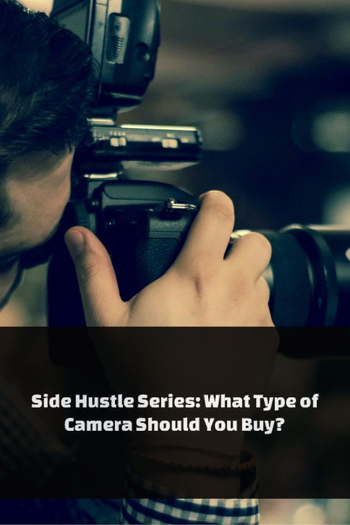 What type of camera should you buy?This post is a part of my new Side Hustle Series.