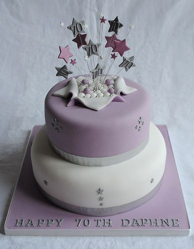174 Best Images About Milestone Birthday Cakes On