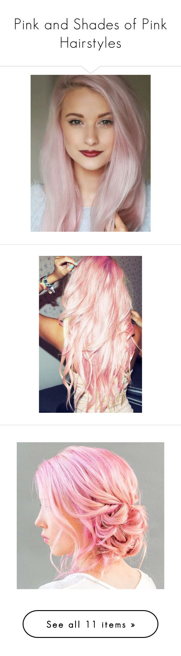Best 25 pink hair extensions ideas on pinterest pale pink hair liked on polyvore featuring hair pink hair beauty products haircare hair color bath beauty hair care hair extensions light pink and curly pmusecretfo Images