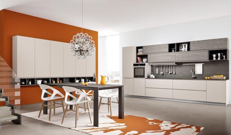 Kitchen by Arredo3 (Top okite stone Aida)