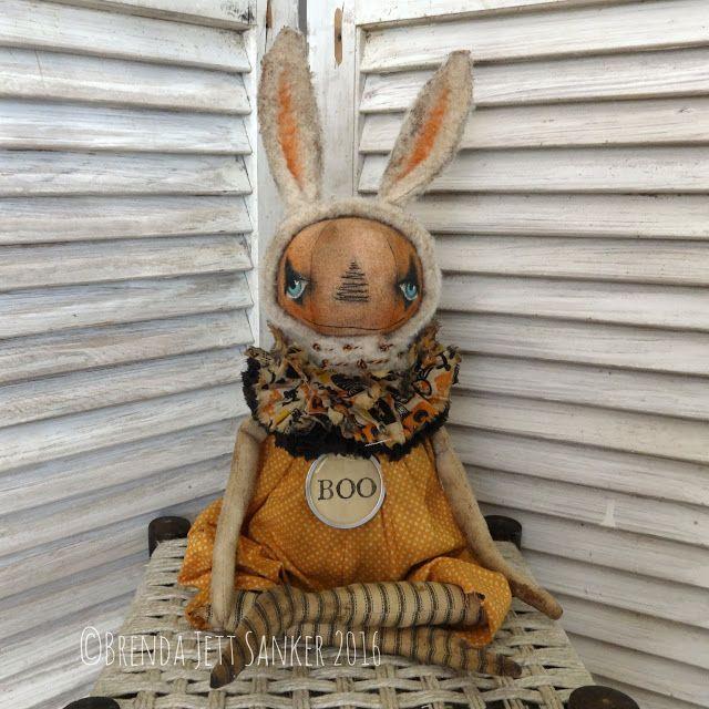 Brenda Jett Sanker Primitive Folk Art