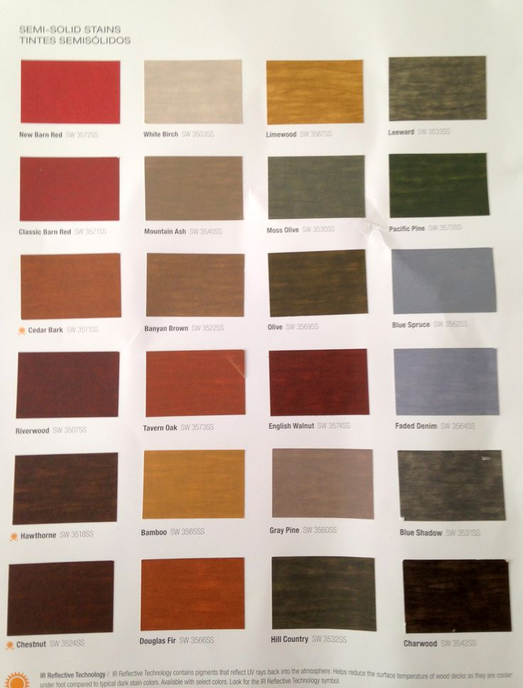 Sherwin Williams Semi Solid Stains For Deck Amp Fence With