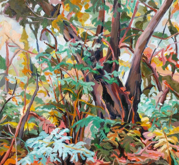Autumn Glade by barbara bateman