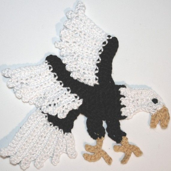 Pattern- Large and Small Eagle Applique PDF via Etsy