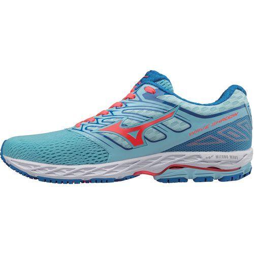 Mizuno Women's Wave Shadow Running Shoes (Blue/Medium Orange, Size 8) - Women's Running Shoes at Academy Sports