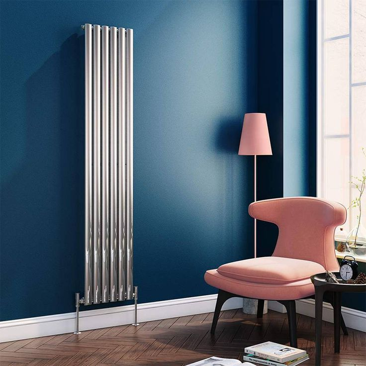 The Brenton Vertical Oval Tube Designer Radiator size 1800x354mm with elegant chrome finish could well be the final touch you need to achieve that feeling of style and comfort that every homeowner strives to achieve. #chromeradiators