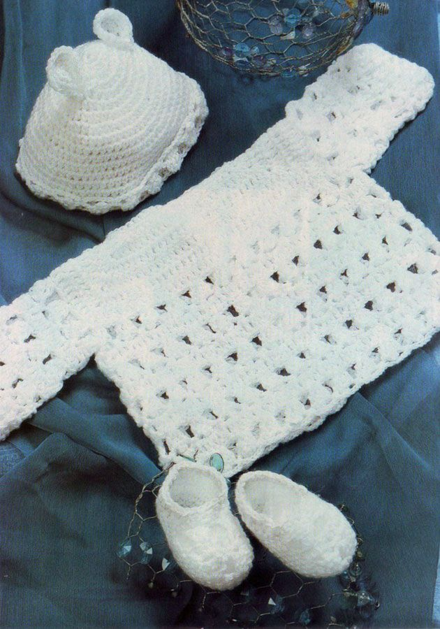 Set for newborn crochet