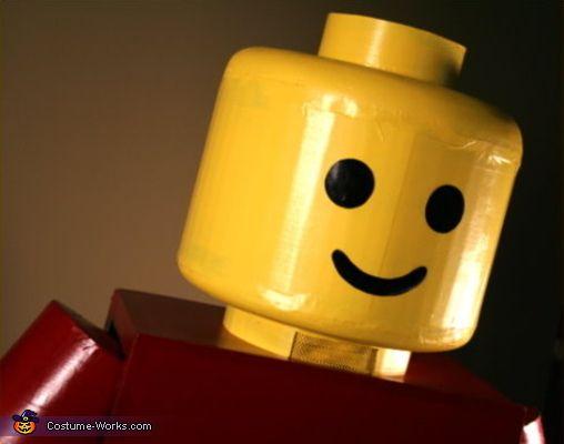 Classic Lego Man Costume - Halloween Costume Contest via @costume_works