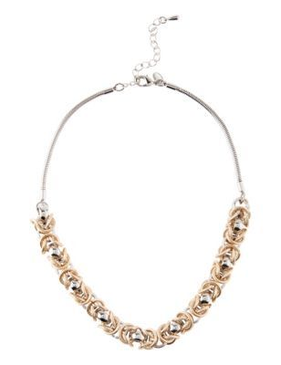 Loop Chunky Chain Necklace