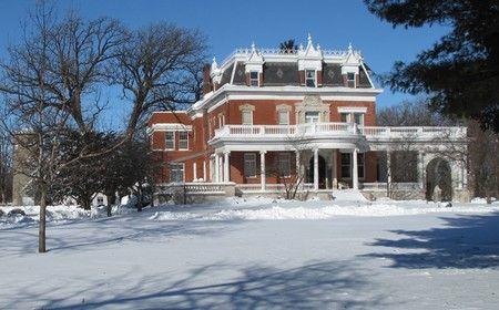 OldHouses.com - 1879 Victorian - Ellwood House in DeKalb, Illinois