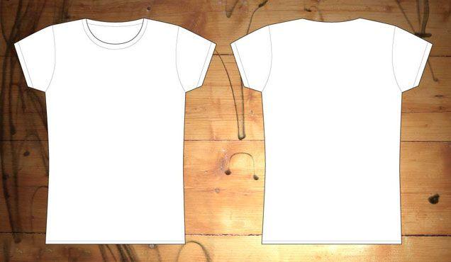 Free Download » http://www.t-shirt-template.com/womens-vector ...