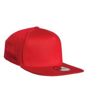 New Era® Flat Bill Stretch Fit Cap. NE401