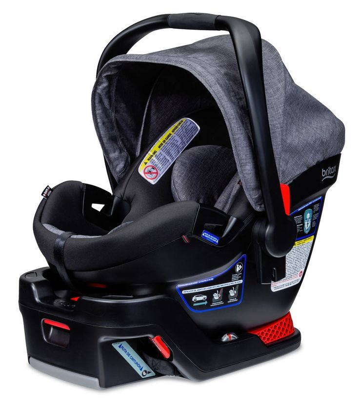 Britax has great safety rating , but all car seats have to follow certain requirements so generally they are all safe!