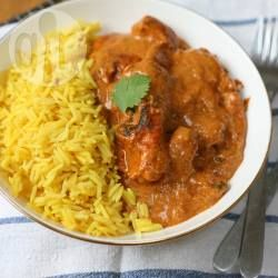 Recipe photo: Slow cooker butter chicken