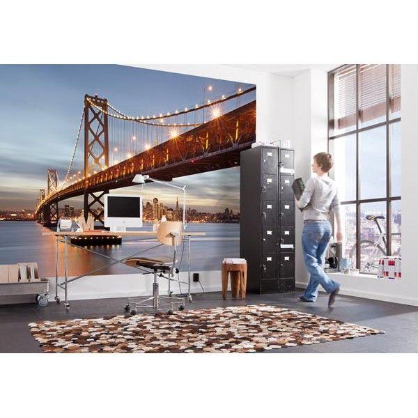 #fotomural bay bridge, #fotomurales  Komar. Diseños especiales para tu hogar. www.decoracionesazuqueca.com
