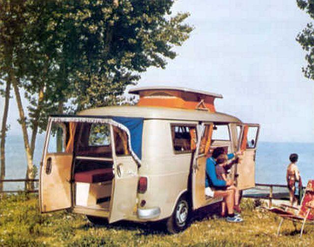 Fiat 238 Camper Weinsberg 1970