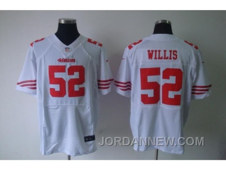 http://www.jordannew.com/nike-nfl-san-francisco-49ers-52-patrick-willis-white-elite-jerseys-christmas-deals.html NIKE NFL SAN FRANCISCO 49ERS #52 PATRICK WILLIS WHITE ELITE JERSEYS FREE SHIPPING Only 21.64€ , Free Shipping!