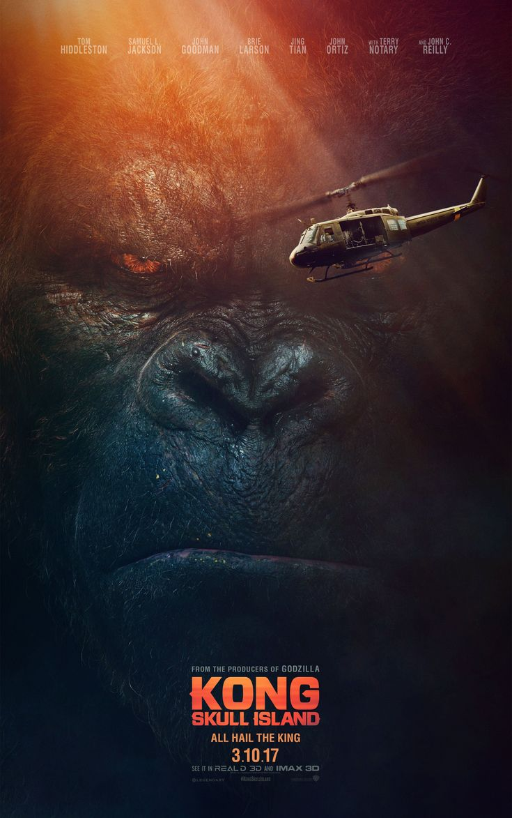 Ahead of the new trailer debut later tonight, Kong: Skull Island stars Brie Larson & Tom Hiddleston have released two jaw-dropping posters for the upcoming monster film. Come check them out!