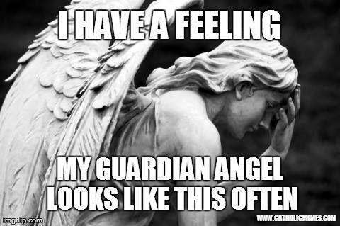 Guardian Angel Face Palm | Catholic Humor | Pinterest ... | 480 x 319 jpeg 31kB