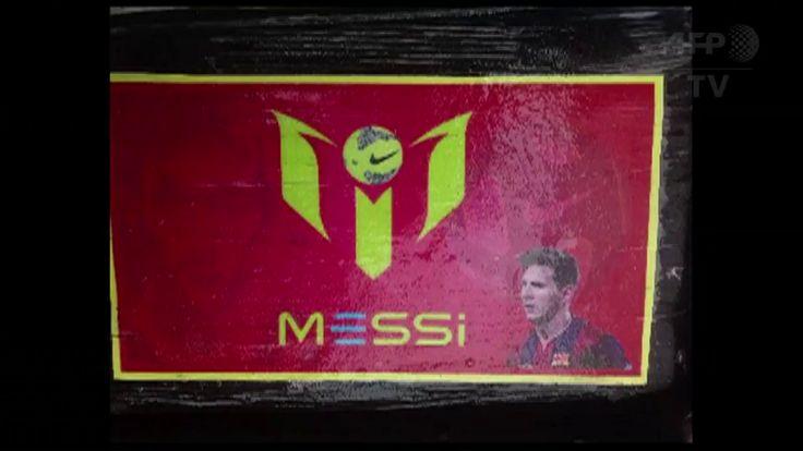 Polisi Sita Kokain dengan Branding Foto Lionel Messi