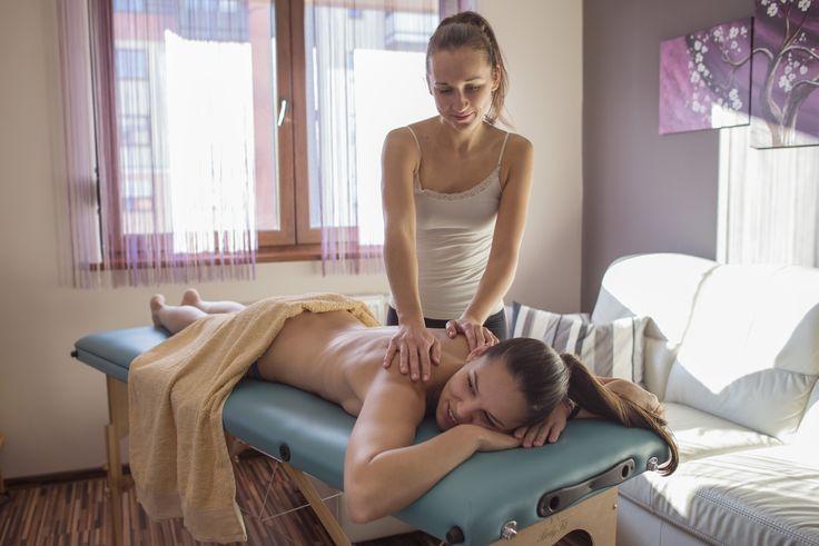 Relaksujący masaż