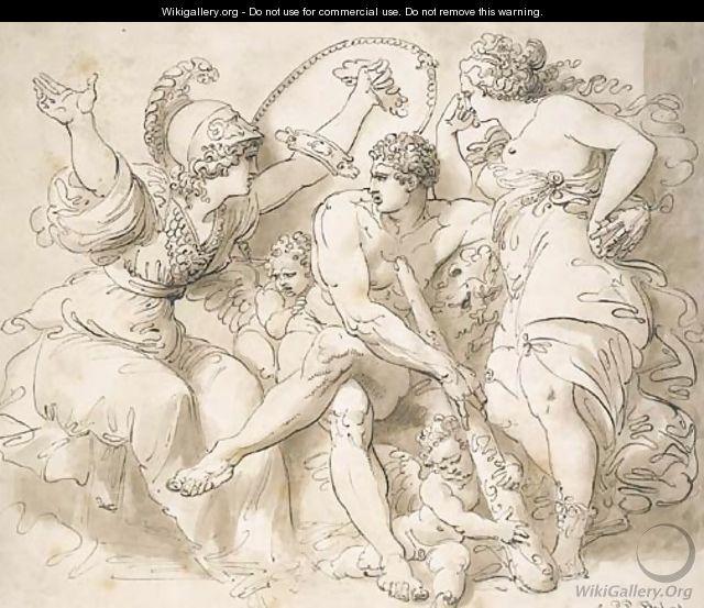 Hercules at the Crossroads - Giuseppe Cades