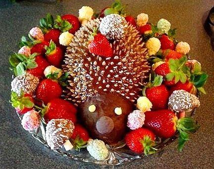 Čokoládový ježko