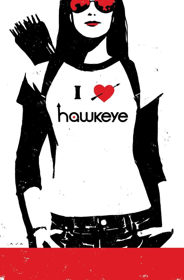 Kate Bishop, Hawkeye ~ art by David Aja