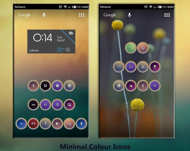 MINIMAL COLOR FREE ICONS APEX - screenshot