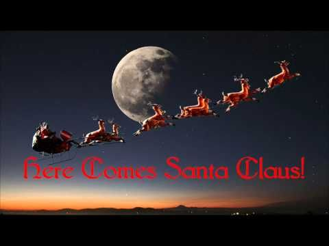 ▶ Here Comes Santa Claus ~ Gene Autry - YouTube