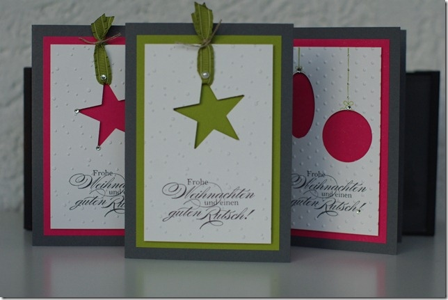 Christmas cut out cards
