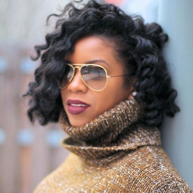 Incredible 1000 Ideas About Curly Crochet Braids On Pinterest Crochet Short Hairstyles For Black Women Fulllsitofus