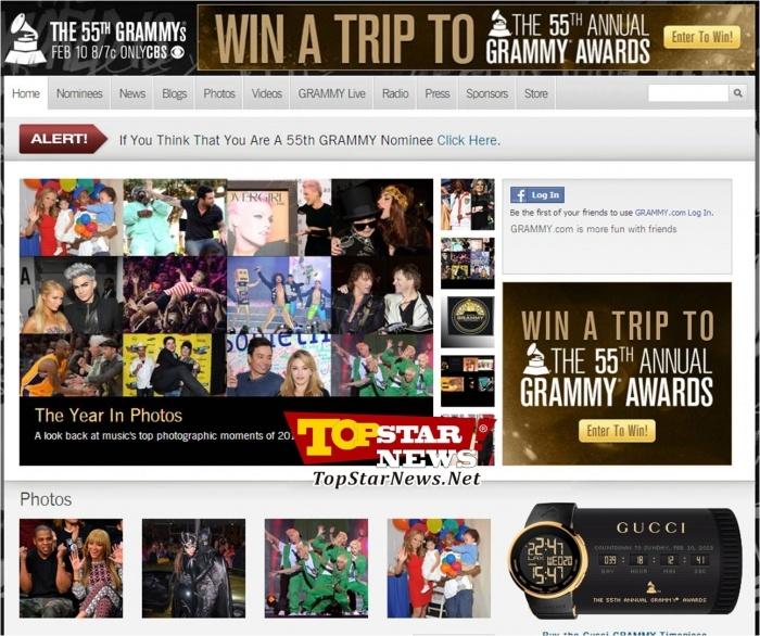 Best of 2012에는 B.A.P(비에이피)도 비욘세, 제이-지, 리한나, 폴 매카트니, 레이디 가가, 머라이어 캐리, 윌 스미스, 조지 클루니, 버락 오바마 등과 함께 선정됐다.