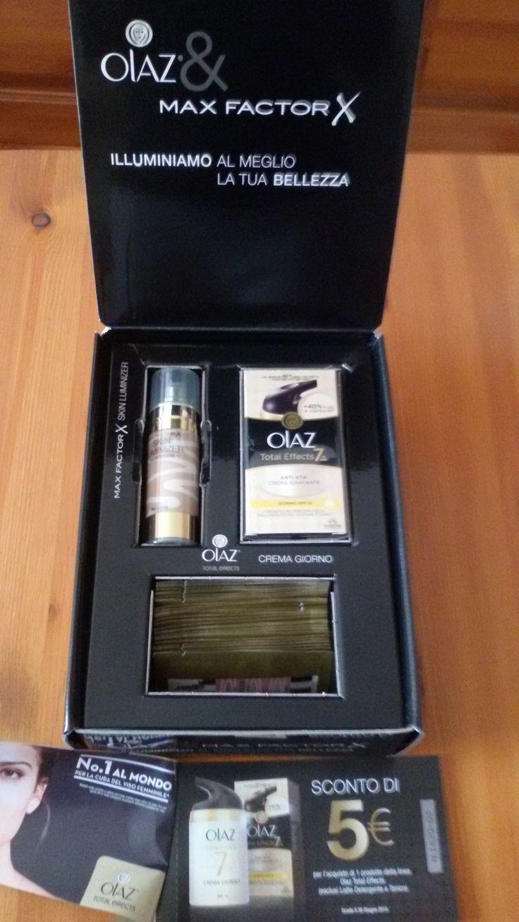 Son stata scelta come Ambasciatrice Desideri Magazine per testare crema da giorno Oil of Olaz &Max Factor Illuminizer