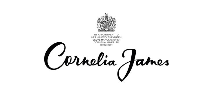 Cornelia James logo design - Joan Quirós