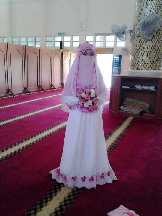 muslimah wedding
