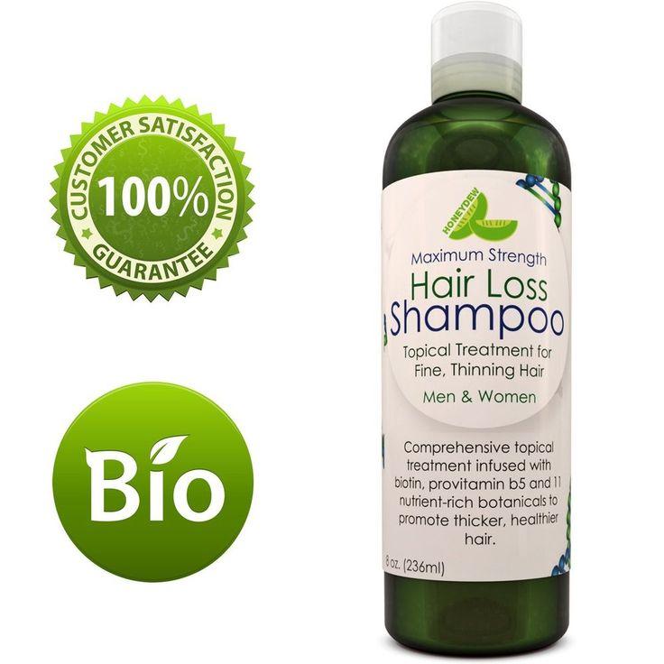 Anti-Hair Loss Shampoo Regrow Hair Anti-Dandruff Anti-Breakage Ingredients #Honeydew